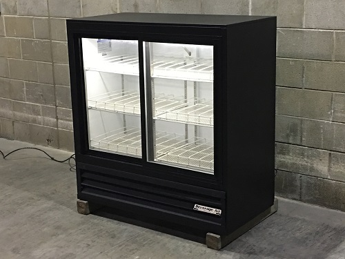 Used Beverage Air Two Glass Door Drink Cooler Merchandiser