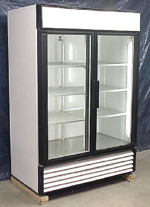 Used Two Glass Door Cooler. View Detailed Images (3)
