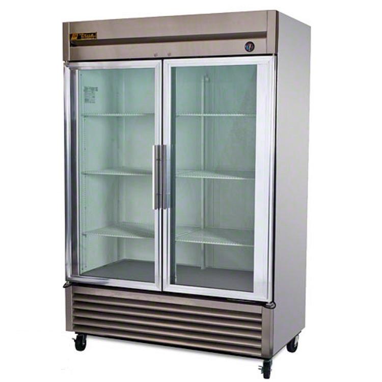 T 49g Two Door Cooler Two Door Refrigerator Glass Door
