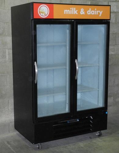 Beverage Air Two Glass Door Cooler Merchandiser Used Two