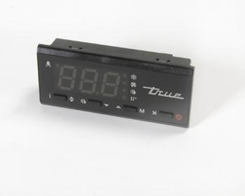 DISPLAY, LCD-5S-1TM BLUE LED BLACK